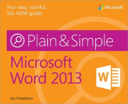 cover of Microsoft Word 2013 Plain and Simple