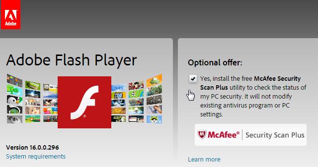 Adobe Flash Player Plugin Download Mac